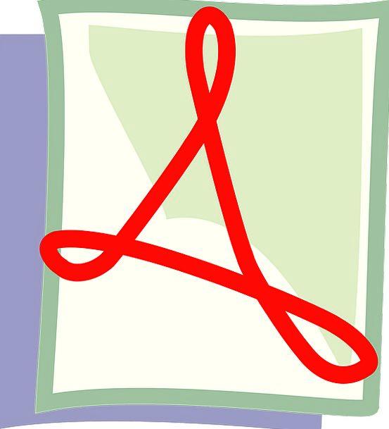 Pdf Folder Adobe File Icon Image Free Vector Graph