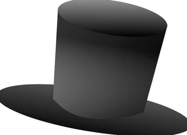 Top Hat Cap Vintage Out-of-date Hat Apparel Style