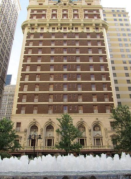 Adolphus Hotel Buildings Center Architecture Dalla