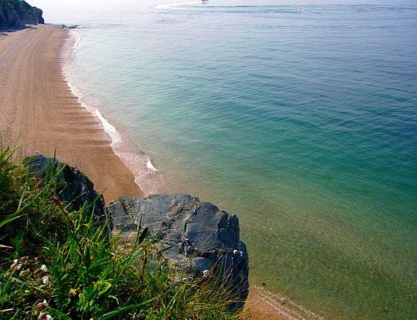 East Vacation Travel Beach Seashore Devon Holiday
