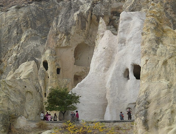 Open Air Museum Tufa Göreme Christianity Tourist C