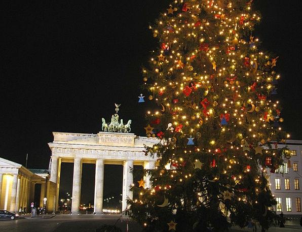 Berlin Berlin At Night Brandenburg Gate Advent Arr