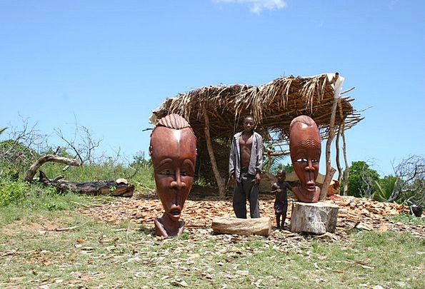 Inhambane Mozambique Handcraft Construction Woodwo