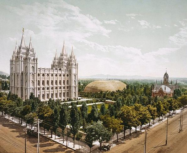 Temple Square Ecclesiastical Salt Lake City Church