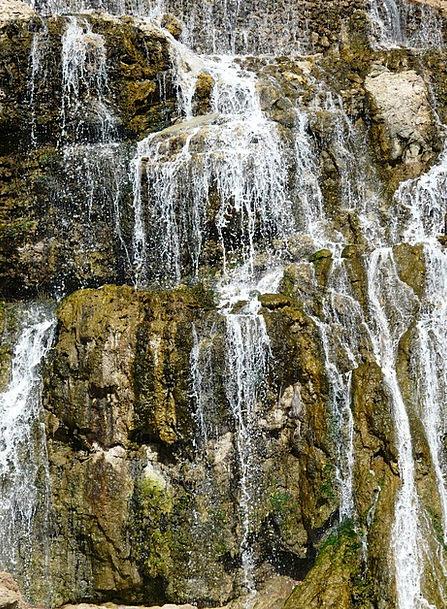 Waterfall Cascade Water Aquatic Bach Murmur Hum Up