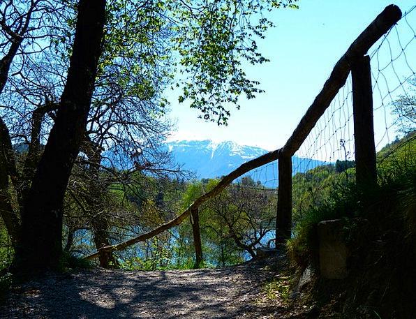 Tenno Lake Landscapes Nature Italy Lago Di Tenno T