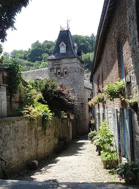 Alley Backstreet Belgium Durbuy Ardennes Old Roman