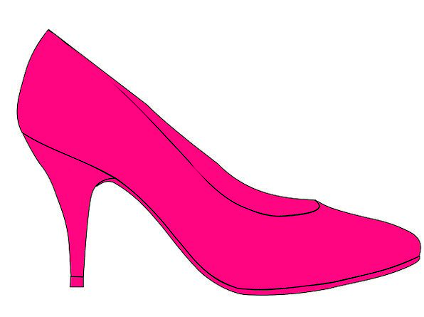 High Heels Fashion Drives Beauty Pink Flushed Pump