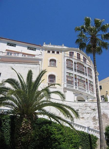 Art Nouveau Buildings Architecture Palm Tribute Ar