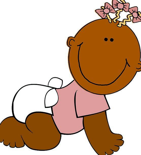 Baby Darling Chocolate Happy Content Brown Girl La