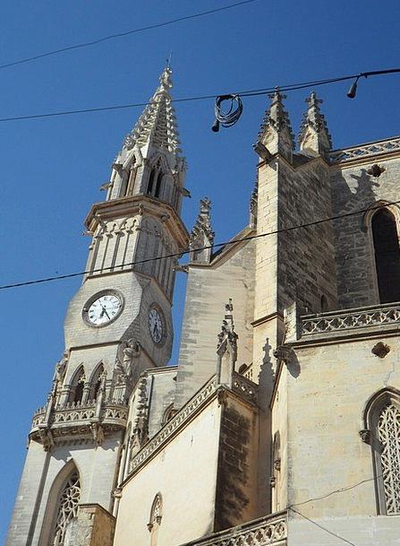 Cathedral Ecclesiastical Imposing Impressive Churc