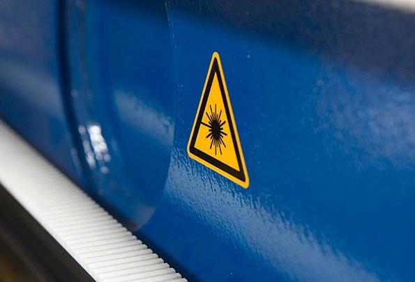 Laser Craft Manufacturing Industry Blue Azure Indu