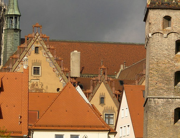 Gable Buildings Rooftops Architecture Homes Famili