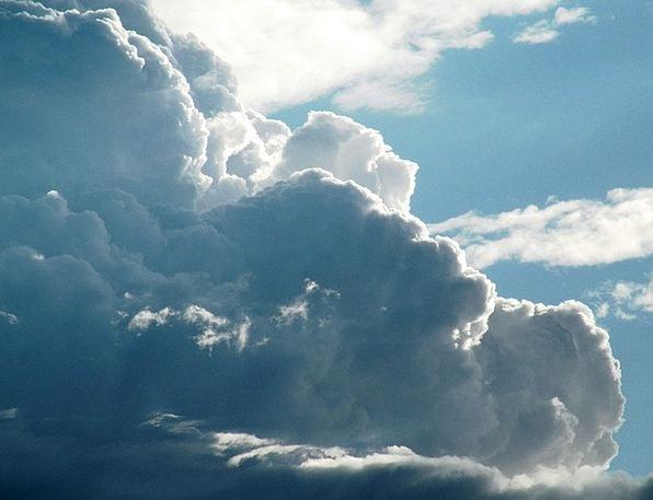 Cloudy Overcast Vapors Cloudscape Clouds Climate W