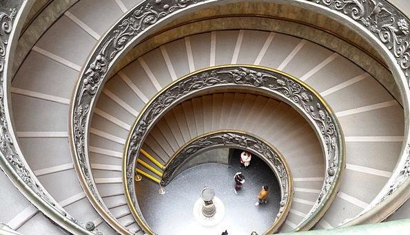 Ladder Ranking Twisting Vatican Spiral Rome Snail