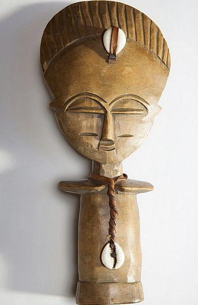 Africa Painting Sculpture Statue Art Birth Wood Ti