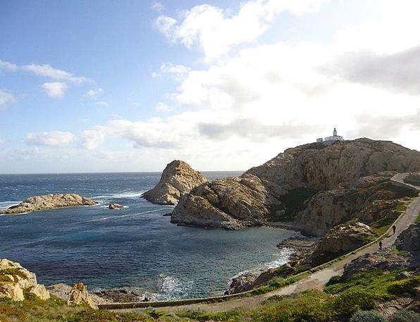 Corsican Landscapes Nature Creek Stream Calvi Sea