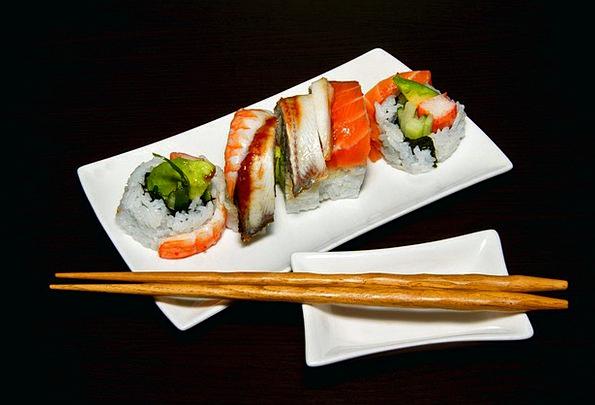Sushi Drink Nourishment Food Restaurant Eatery Foo