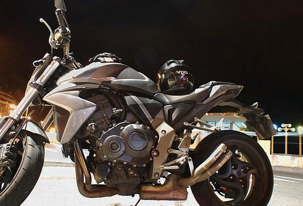 Motorcycle Motorbike Night Nightly Honda