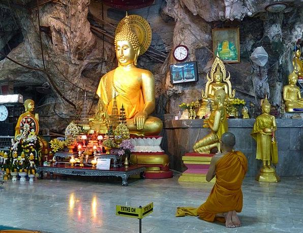 Temple Shrine Ao Nang Tiger Cave Krabi Thailand