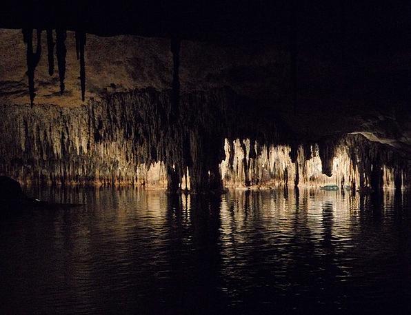 Cave Cavern Mallorca Dragon'S Lair Stalagmite Stal