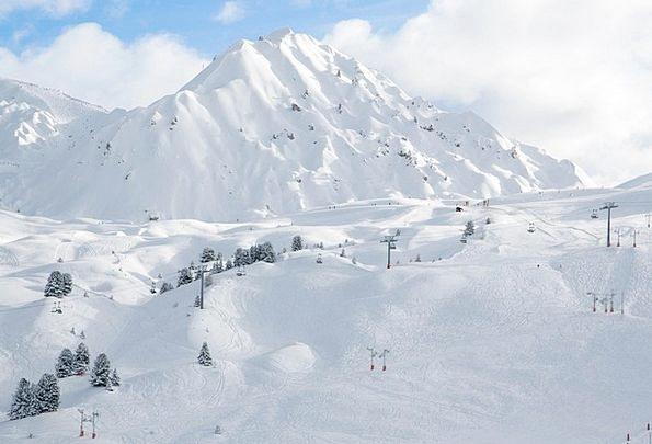 Alpine Mountainous Landscapes Nature Cold Emotionl