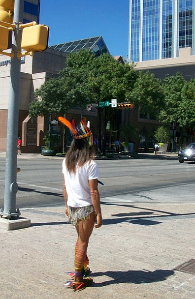 Austin Downtown Center Texas Native Innate America