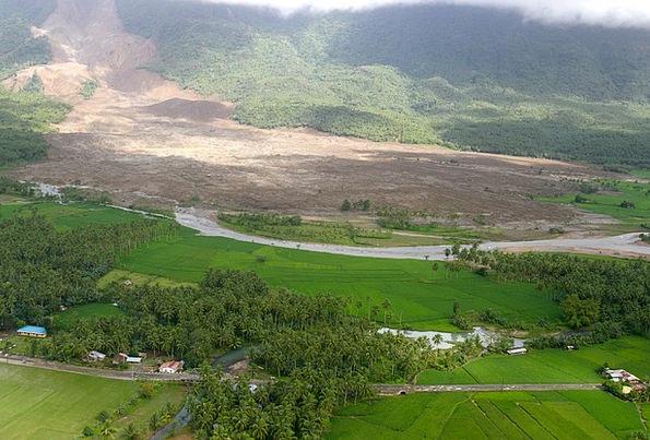 Philippines Landscapes Scenery Nature Landslide Vi