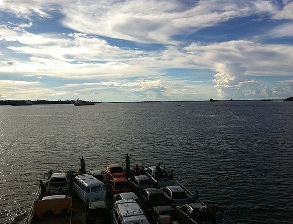 Amazonas Landscapes Aquatic Nature Blue Sky Water
