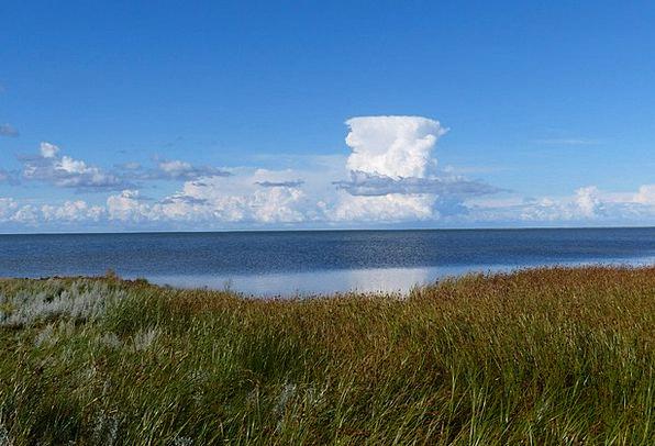 Cumulus Nimbus Landscapes Vapors Nature Sky Blue C