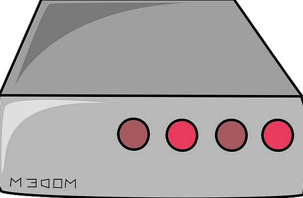 Modem Communication Wink Computer Hardware Blink T