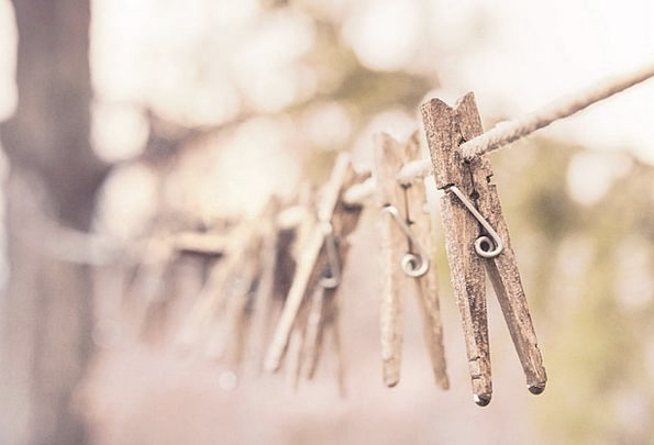 Pegs Pins Clothesline Clothes Line Clothespins Hou