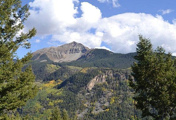 Colorado Crags Rockies Mountains