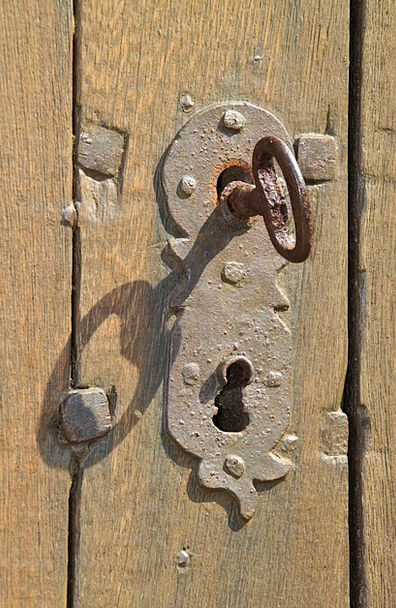 Key, Important, Stainless, Key Hole, Wooden Door, Iron, Firm, Old ...