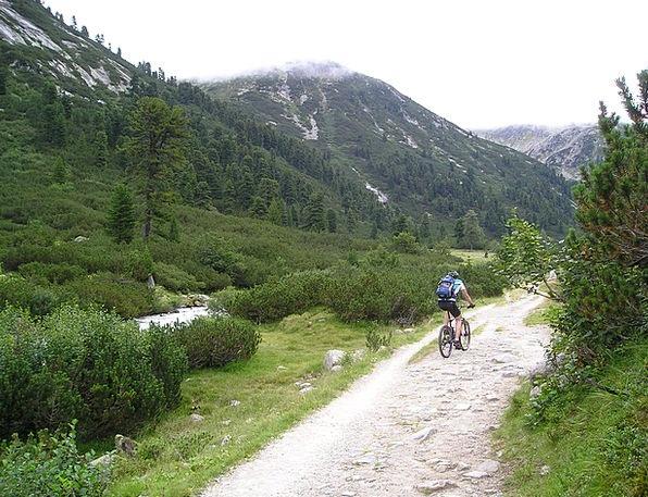 Mountain Bike Landscapes Motorbike Nature Tour Tri