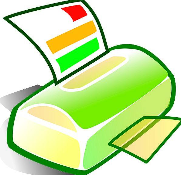 Printer Copier Fax Facsimile Scanner Printout Equi
