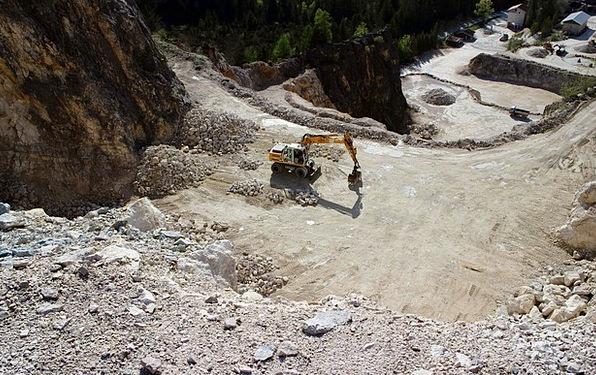 Quarry Pit Mining Rock Pillar Quarrying Stones Gra