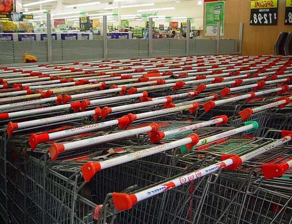 Shopping Cart Shopping Spending Trolleys Commercia