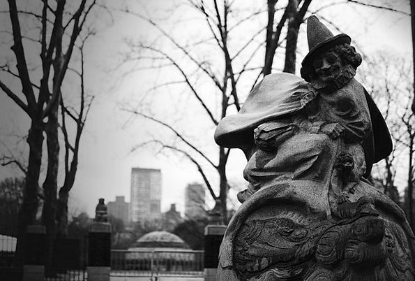 Central Park Buildings Architecture Statue Figurin