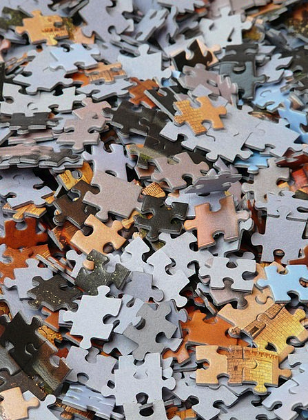 Puzzle Mystery Incomplete Mess Untidiness Unfinish
