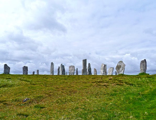 Stone Circle Stones Gravels Celtic Religious Ancie