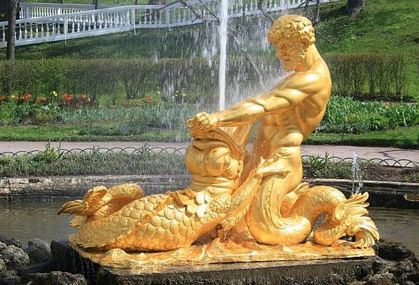 Fountain Cascade Aquatic Spout Jet Water Statue Fi