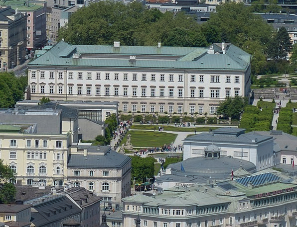 Mirabell Palace Vacation Fortress Travel Salzburg