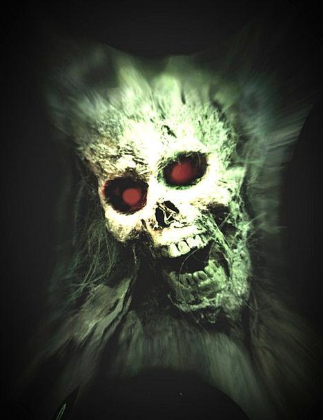Screaming Loud Mind Human Halloween Skull Gothic s