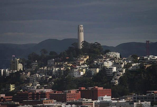 Coit Tower United States San Francisco America Tow