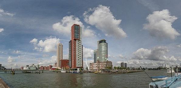 Rotterdam Wilhelmina Pier Rijnhaven Hotel New York