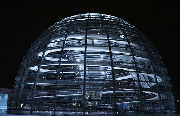 Berlin Bundestag Glass Dome Reichstag Capital Spre