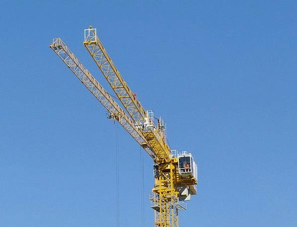 Crane Hoist Scaffold Support Baukran Site Place Ye
