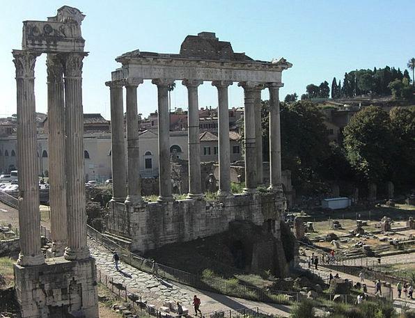 Forum Opportunity Buildings Architecture Rome Colu