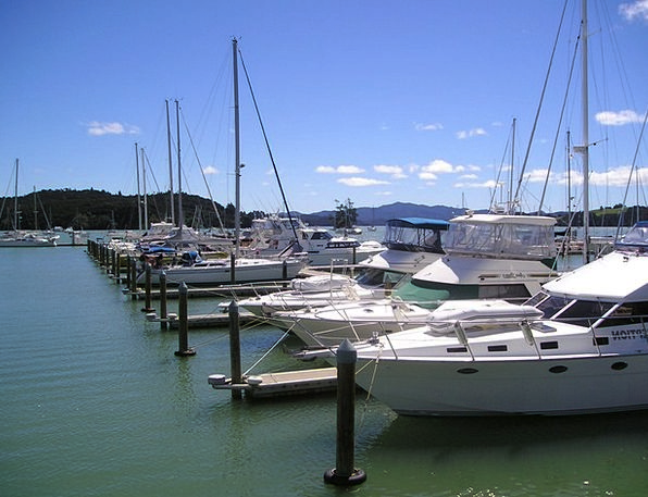 New Zealand Harbor Sea Marine Port Boats Ships